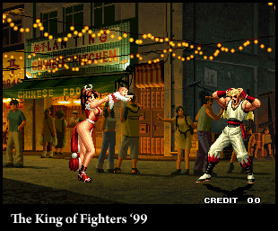 king of fighters 99 screenshot