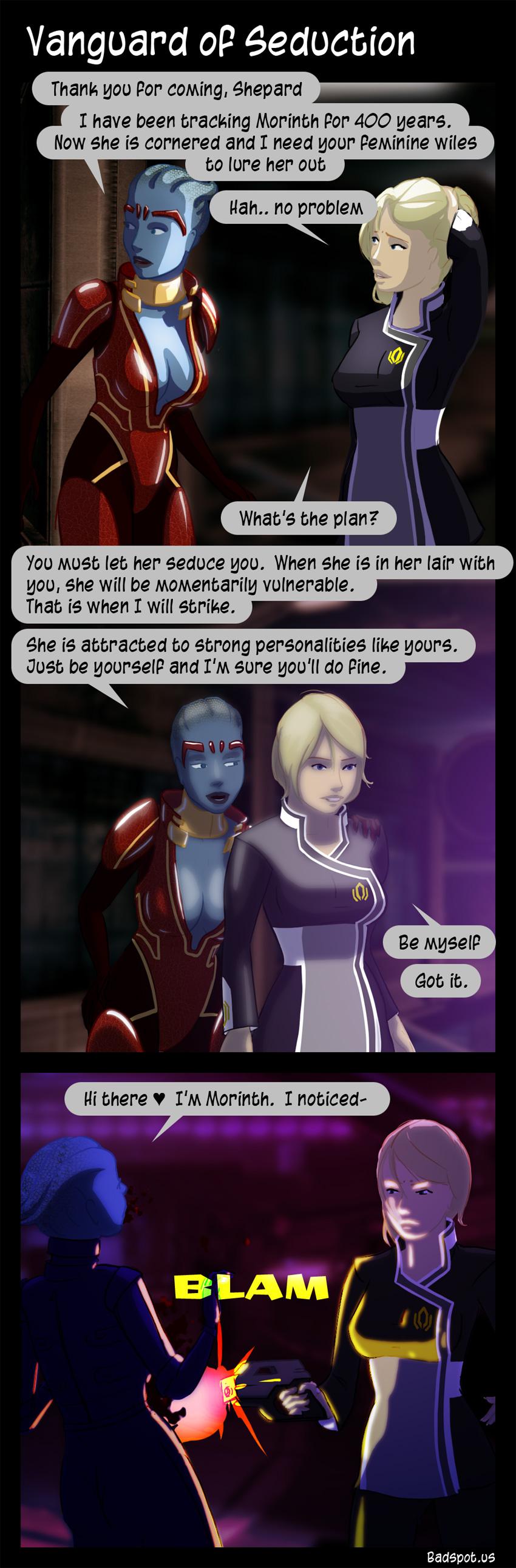 mass effect sex comics