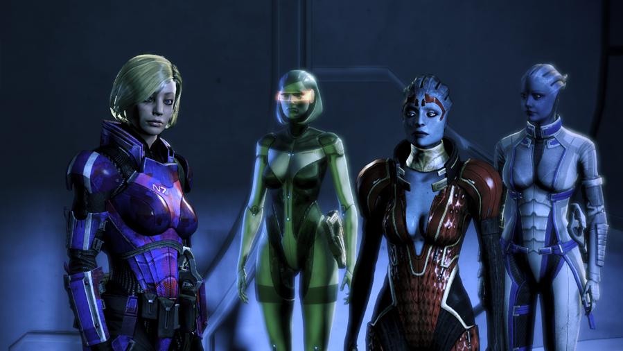 Edi Mass Effect mass effect 3 green edi