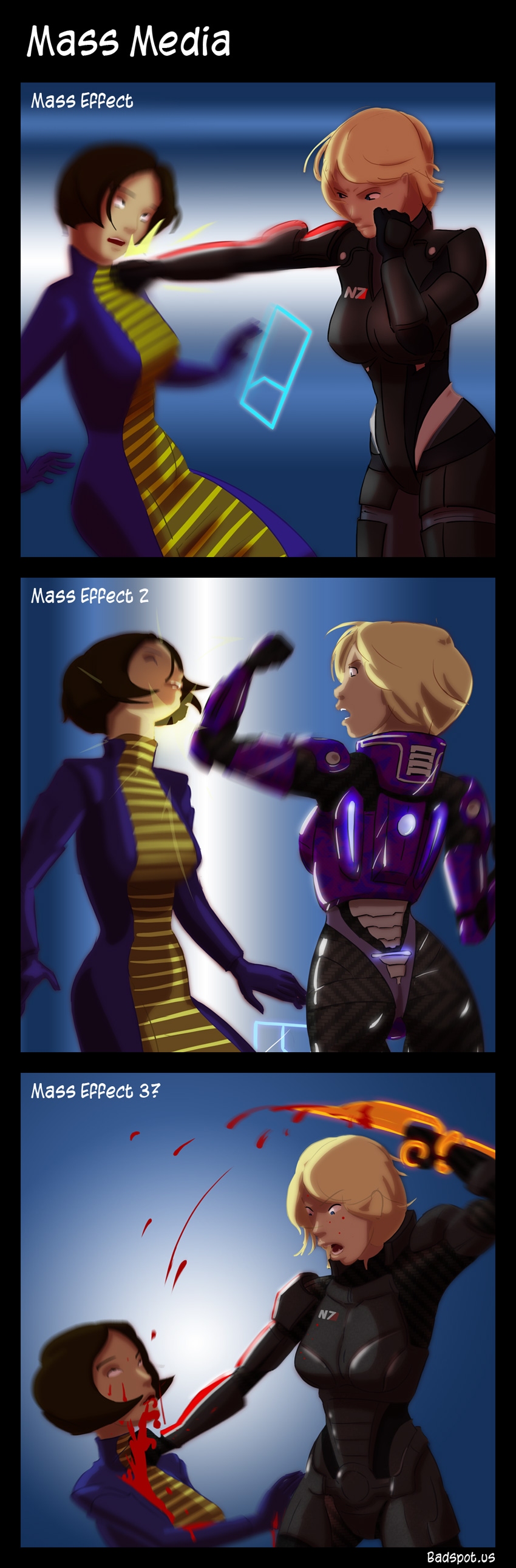Mass Effect Funny Comics Mass Effect Comic Mass Media