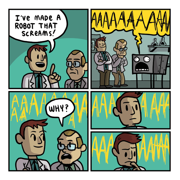 Robot That Screams