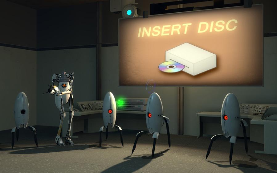 Portal 2 Mystery Turrets