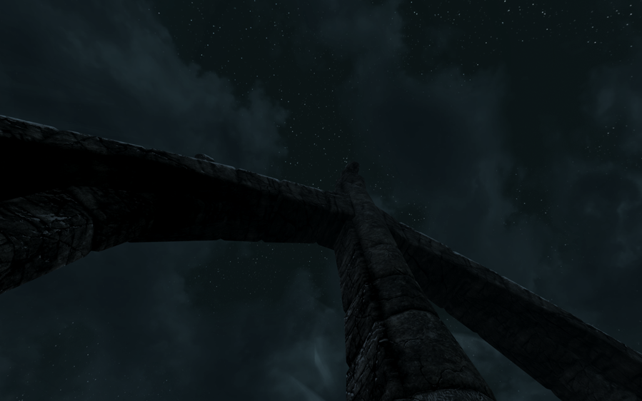 Skyrim Night Skies