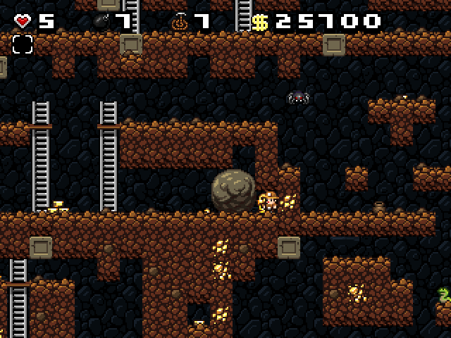 Trapped in Spelunky