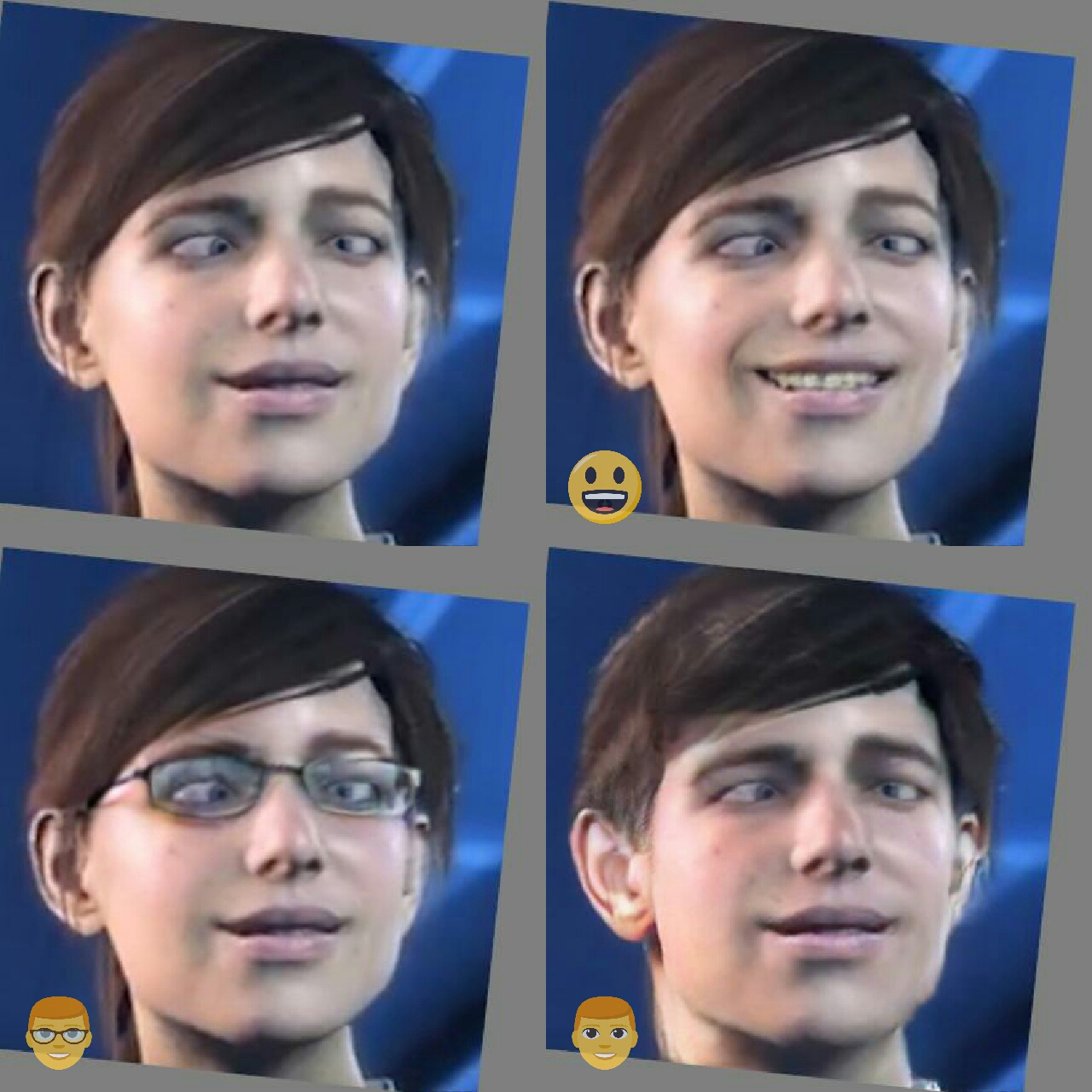 faceapp Mass Effect Andromeda Ryder 2