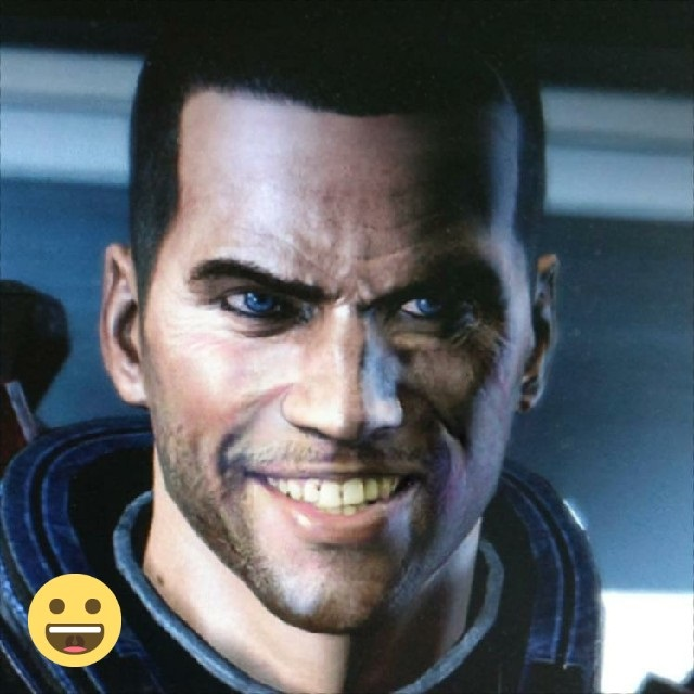 faceapp Mass Effect Shepard