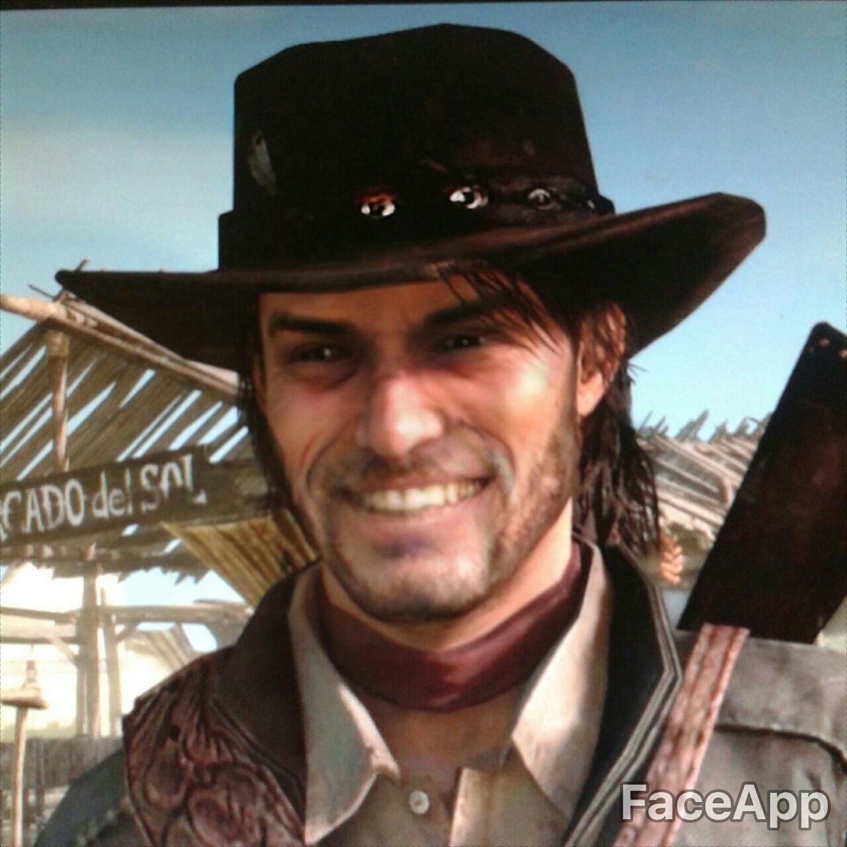 faceapp Red Dead Redemption 2