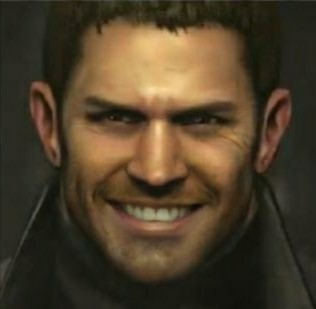 faceapp Resident Evil Chris Redfield