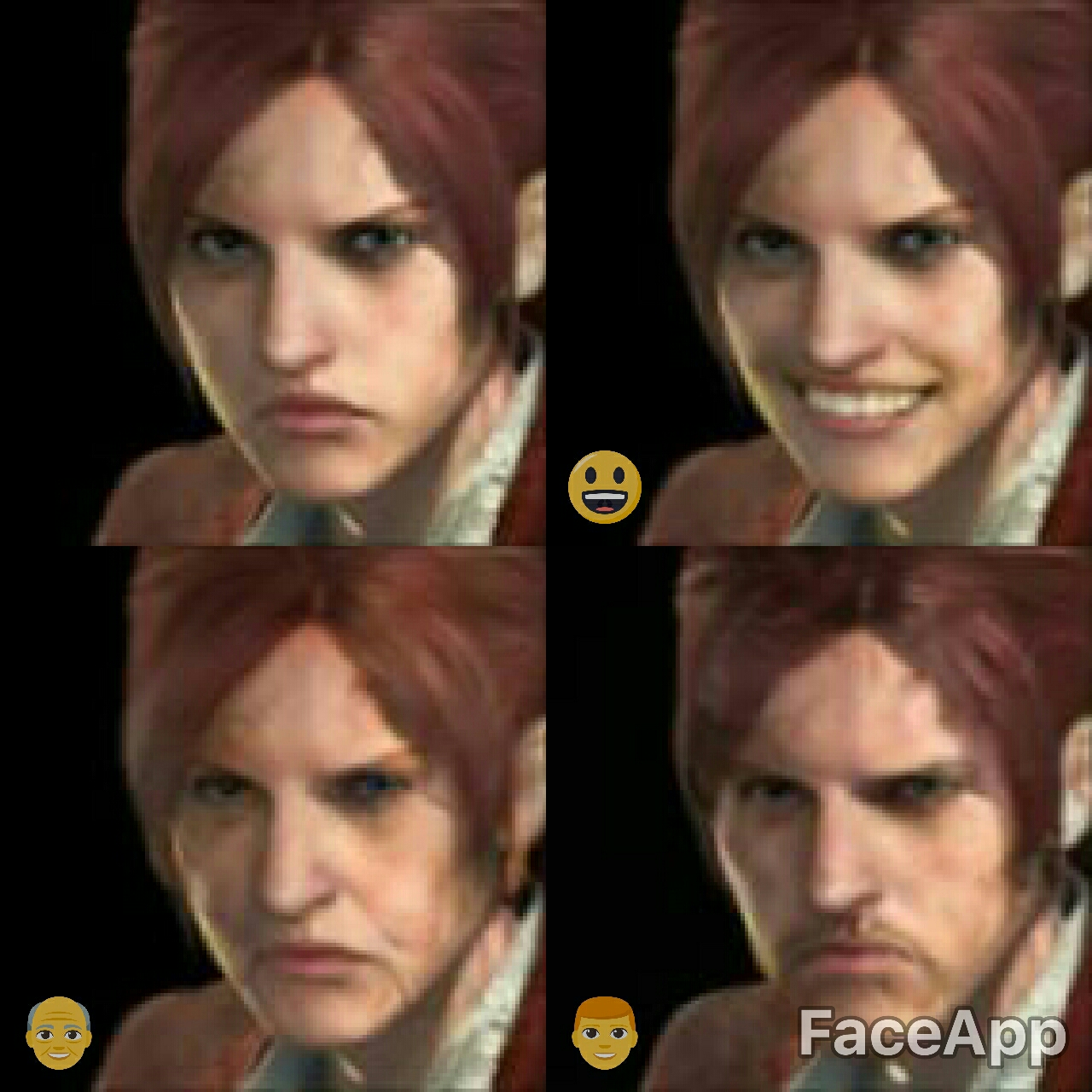 faceapp Resident Evil Claire Redfield