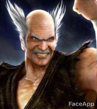 Faceapp Tekken Heihachi Mishima