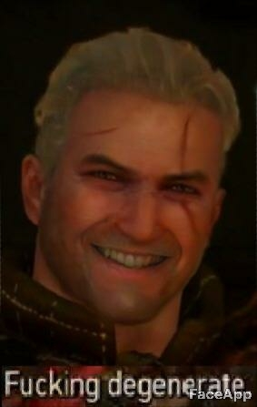 faceapp Witcher 2