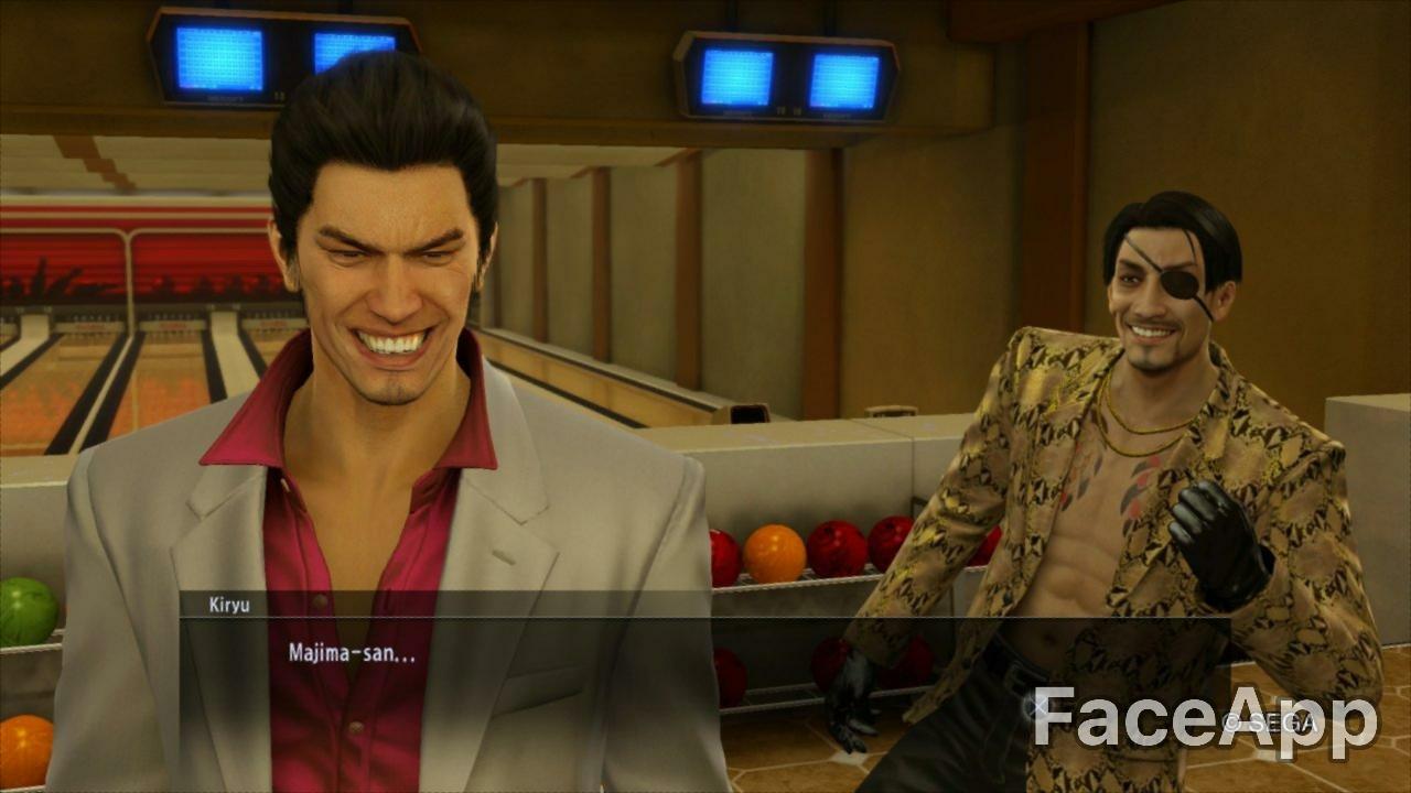 All Smiles : yakuzagames