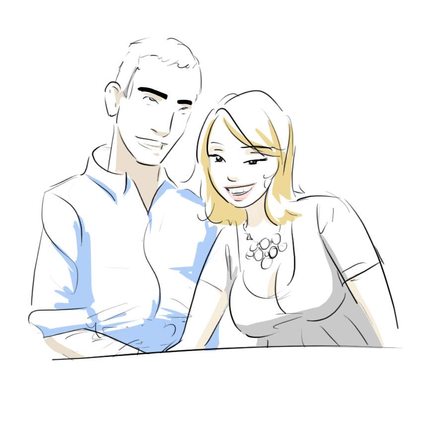 rgd table couple