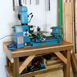 Wooden Lathe Stand